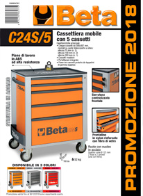 Beta Tools - Promozione cassettiera C24S-5